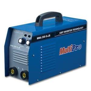 Alat Mesin Las jual mesin las multipro mma 200 g jb alat las