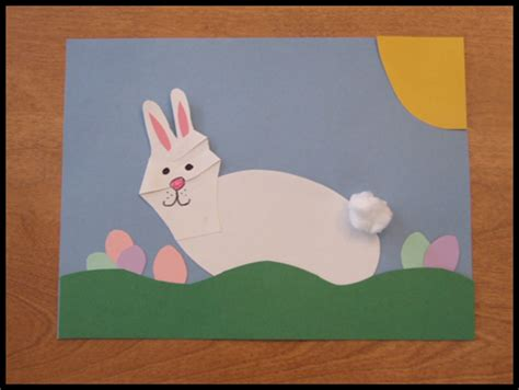 easter bunny craft projects handprint easter bunny craft for easter crafts