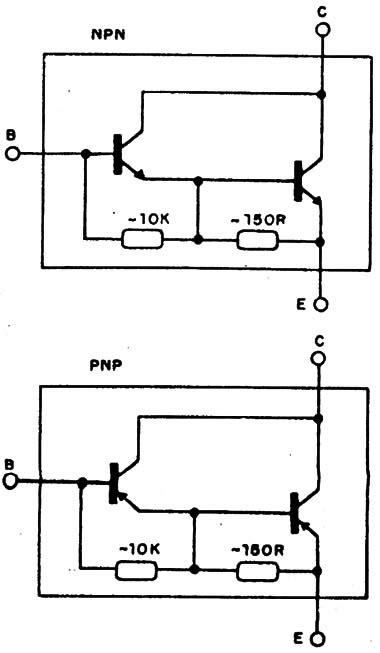 transistor darlington de potencia transistor darlington aplicaciones 28 images tip127 transistor darlington tip127 pnp 5 a 100