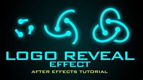 tutorial logo reveal after effects after effects tutorial logo spin reveal effect youtube