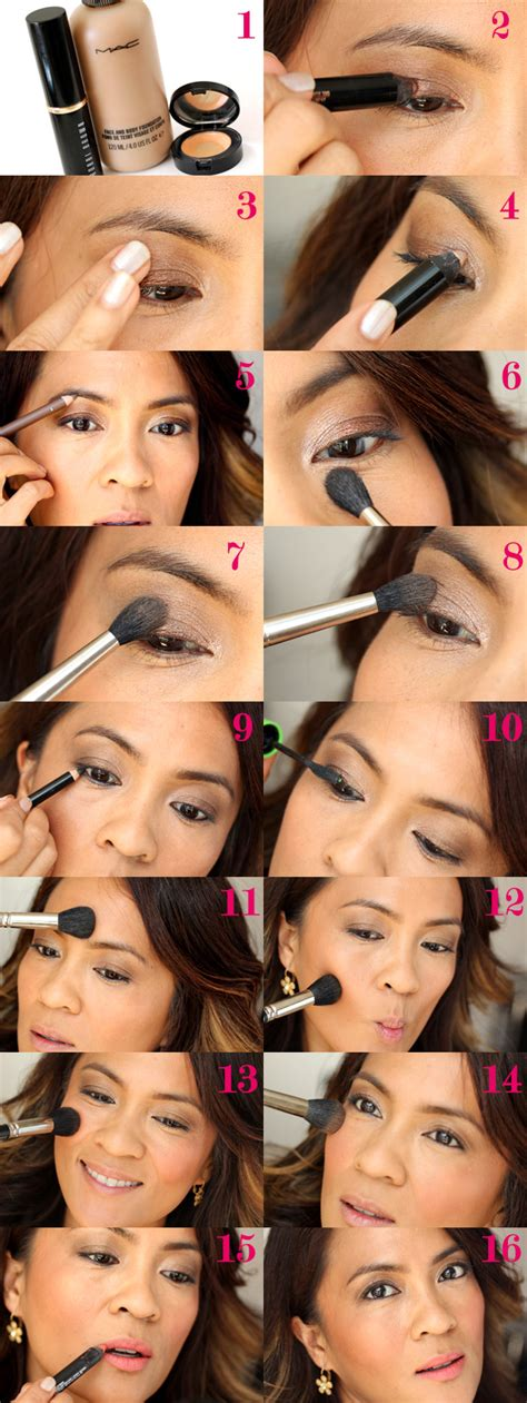 office makeup tutorial a two brush makeup tutorial an easy look with golden