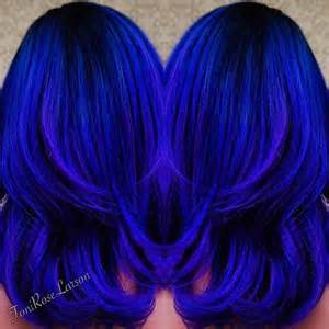royal blue hair color blue colors colors and blue hair on