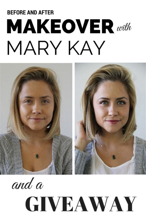 Mary Kay Giveaway - my make over with mary kay style little miss momma