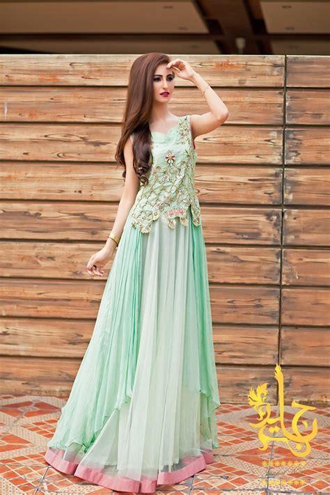 gaun dress design in pakistan ferozi party wear long frock pakistani indian party