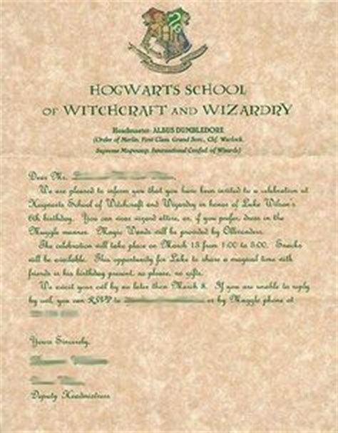 Invitation Letter To Headmaster 1000 Images About Harry Potter On Harry Potter Harry Potter Letter