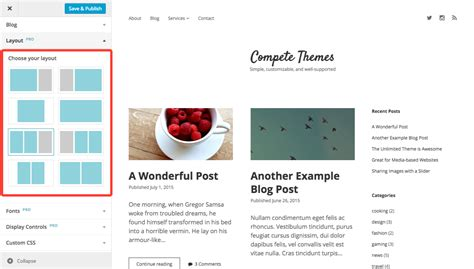 change layout of wordpress page how to change your layout
