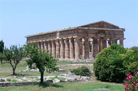 vacanza paestum paestum nel cilento foto descrizione e notizie