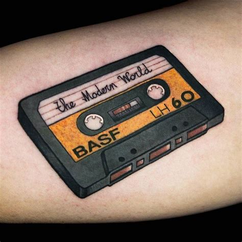cassette tape tattoo best 25 cassette ideas on