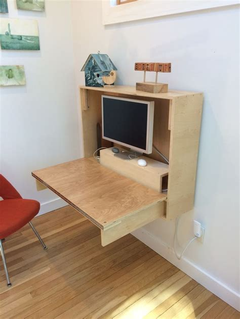 wall desks for small spaces best 25 fold up wall bed ideas on pinterest fold up
