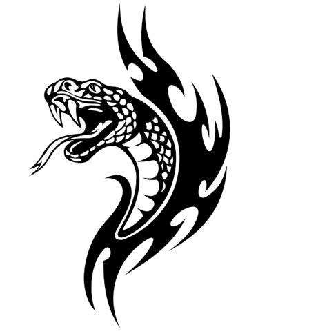 tribal tattoos png 54 snake designs