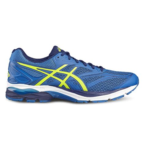 running sneaker asics gel pulse 8 mens running shoes