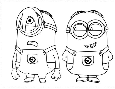 despicable me coloring pages free printable coloring