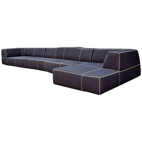 b b b b italia quot bend quot sofa by urquiola at 1stdibs