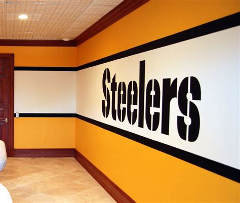 Pittsburgh Steelers Bedroom Decor by 1000 Images About My Husband S Cave Ideas On