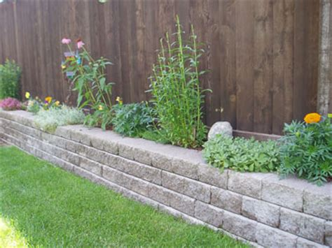 Retaining Wall Planter Ideas by Planters Patio Town
