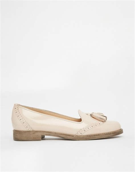 river island flat shoes river island dillon tassel loafer flat shoes at asos