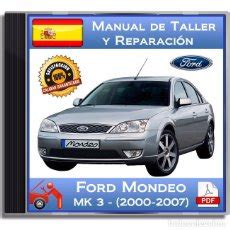 Ford Mondeo Mk3 2000 2007 Manual De Talle Vendido