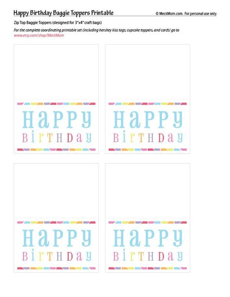 printable party bag toppers 98 best bag topper printables images on pinterest bag