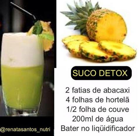 Suco Detox Receita Facil by Receita Suco Detox De Abacaxi Cultura Mix