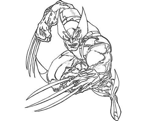 coloring pages to print printable wolverine coloring pages coloring me