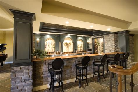 Build Basement Bars : Crazy Ideas Good Basement Bars