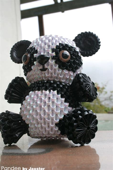 how to make 3d origami panda 3d origami panda 3d origami