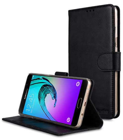 samsung galaxy a9 pro 2016 mobile cases cellphone genuine leather flip