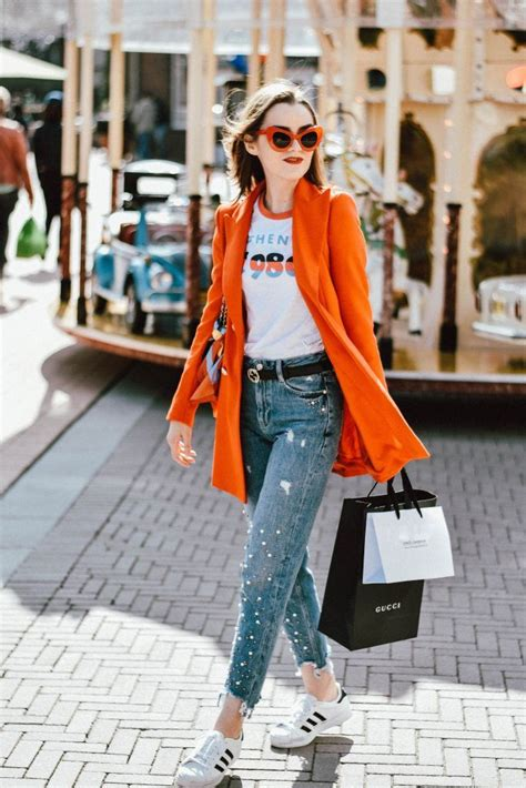 Tips For Wearing Orange by The Easy Way To Wearing Pearl Topshop