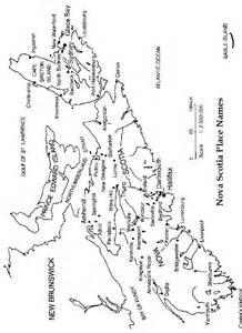 halifax scotia map canada scotia printable map