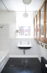 black and white tile in bathroom 35 vintage black and white bathroom tile ideas and pictures