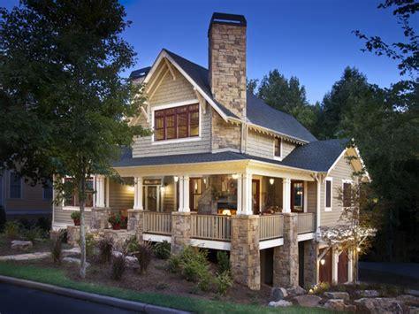 craftsman style architecture craftsman home  wrap