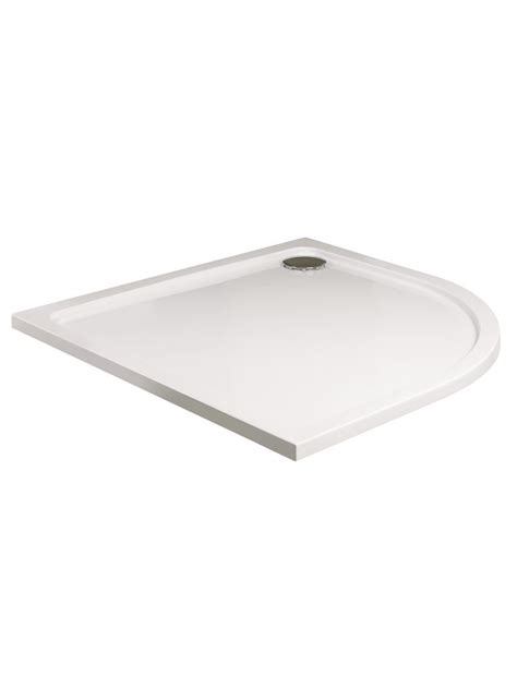 Shower Tray 1200 X 1000 Low Profile by Low Profile 1000 Quadrant Shower Tray With Free Shower Waste