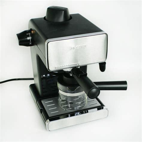 espresso coffee mr coffee steam espresso cappuccino maker jeffs reviews