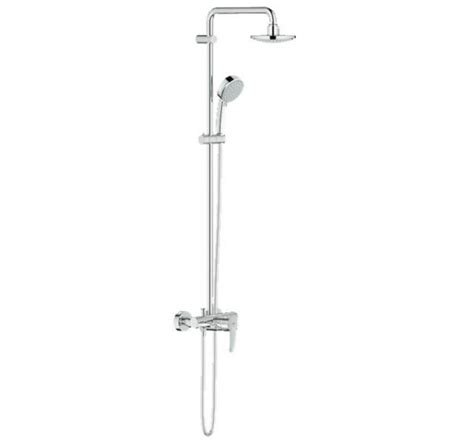 Kitchen Sink Faucet Reviews grohe 26224000 ntempcosmo 160 shower system