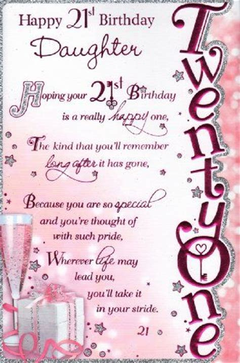 Happy 21 Birthday Quotes 17 Best Images About Daughter 21 21st Birthday