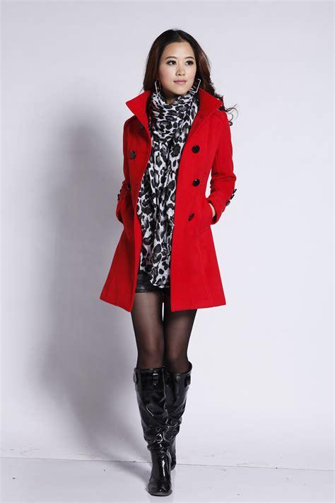 Jaket Fashion fashion korean winter slim wool coat jacket coat overcoat ebay