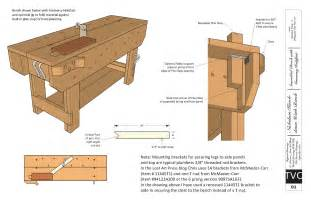 free plans download free plans for the knockdown nicholson workbench lost art press