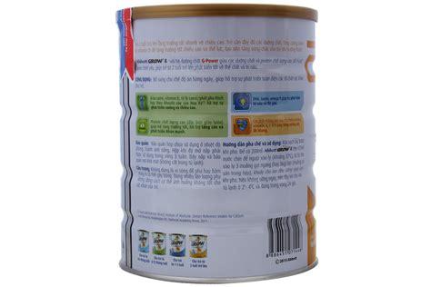 grow len sữa bột abbott grow 4 900g cho b 233 từ 2 tuổi trở l 234 n
