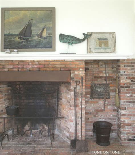 Historic Fireplaces by Eclectic Home Tour Tone On Tone Maine Home