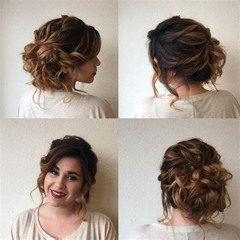 Hairstyles Updos For Curly Hair by Best 25 Naturally Curly Updo Ideas On