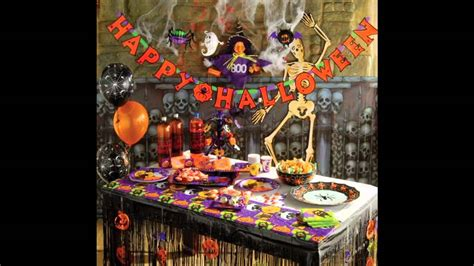 100 home decorating parties halloween ideas to at home halloween party decorating ideas youtube