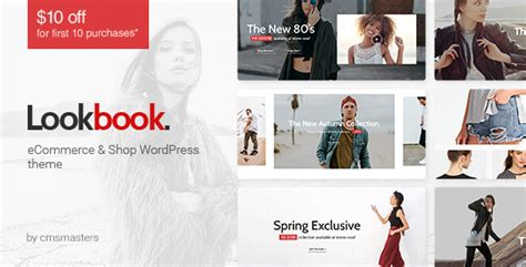 Lookbook Fashion Store Clothing Woocommerce Theme By Cmsmasters Lookbook Website Template