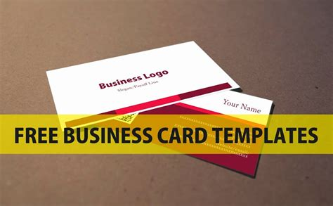 Free Visiting Card Templates For Coreldraw by Free Business Card Template 2 A Graphic Design