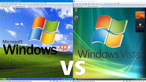 Comparing Windows Xp To Windows Vista Doovi