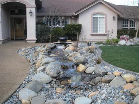 Best Backyard Landscaping Ideas by Top Front Yard Landscaping Ideas With Rocks Jbeedesigns