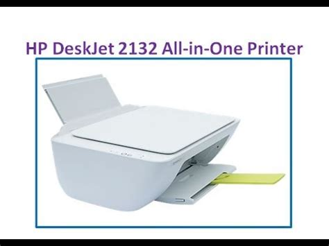 Printer Hp Deskjet 2132 All In One F5s41d hp deskjet 2132 all in one printer unboxing and review