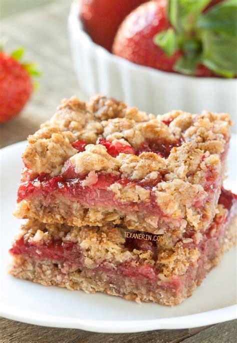 whole grain jam squares oatmeal jam bars