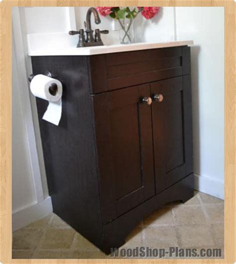 bathroom vanity woodworking plans bathroom woodshop plans