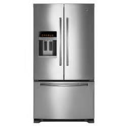 door refrigerator bottom freezer maytag mfi2670xem 25 5 cu ft door bottom