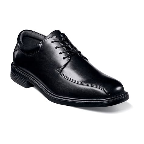 sears shoes nunn bush s marcell leather oxford black wide width